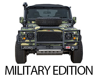 Land Rover Defender Military Edition - Click here for more info...