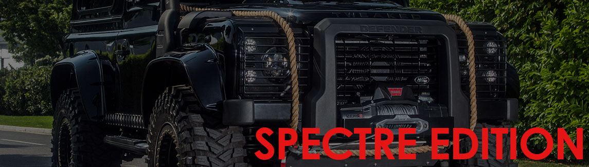 Land Rover Defender Spectre Edition - Click here for more info...