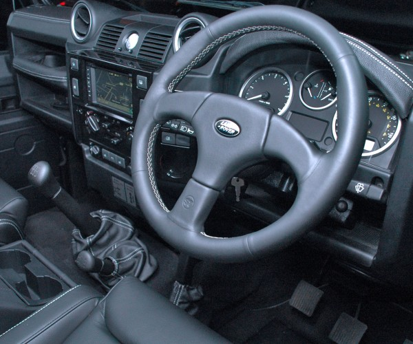 Land Rover Defender - Interior