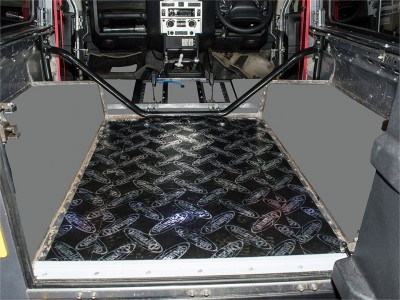Land Rover Defender - Sound Proofing