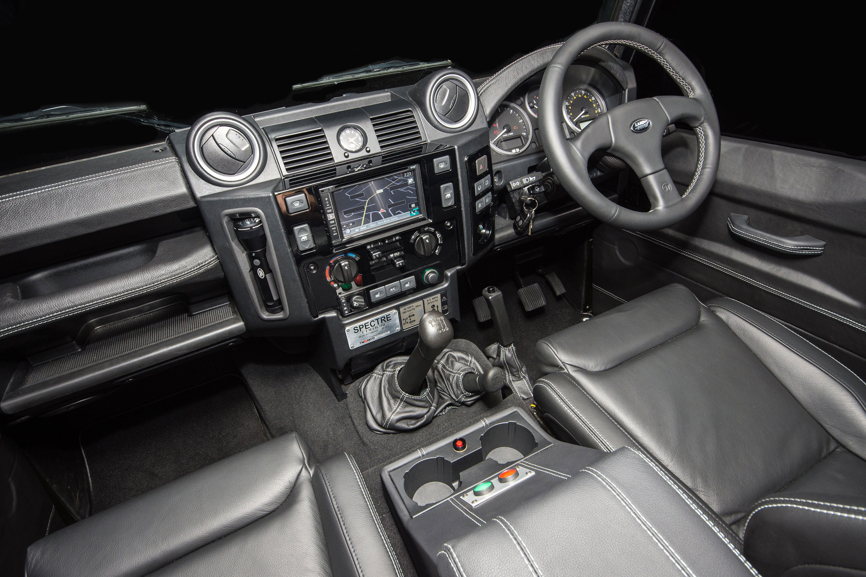 Land Rover Defender 110 >> Interior - Tweaked Automotive