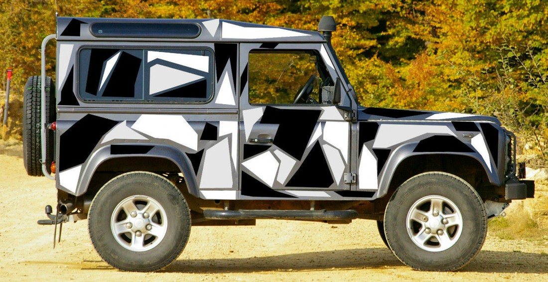 Land Rover Defender - Wrapping Services