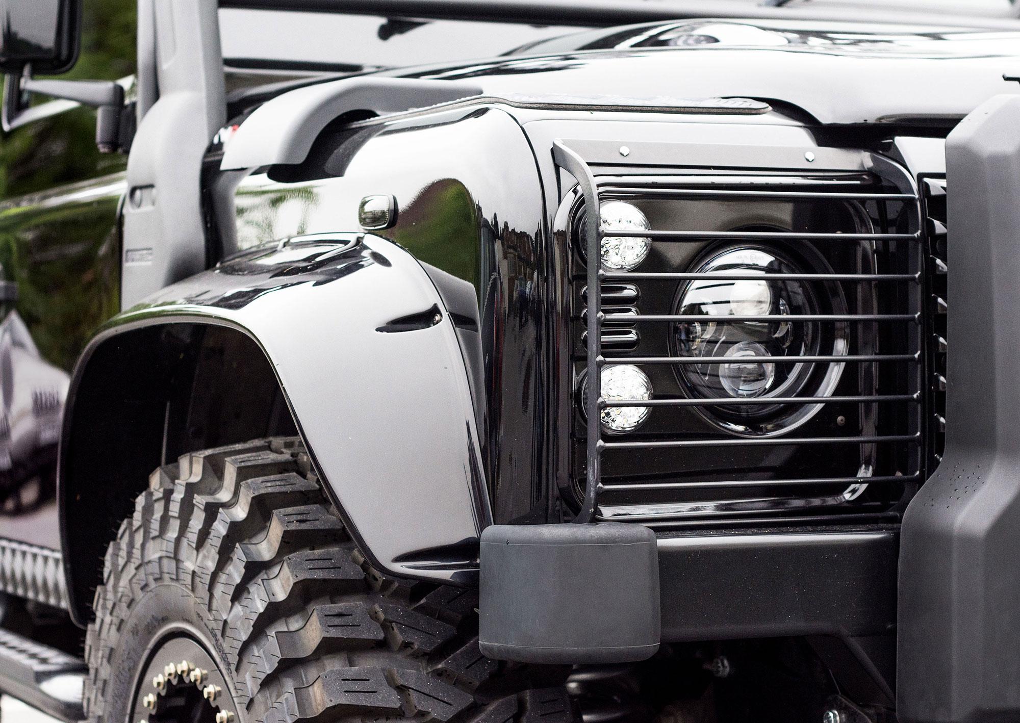land rover defender 90 110 130 tweaked spectre edition tweaked automotive. Black Bedroom Furniture Sets. Home Design Ideas