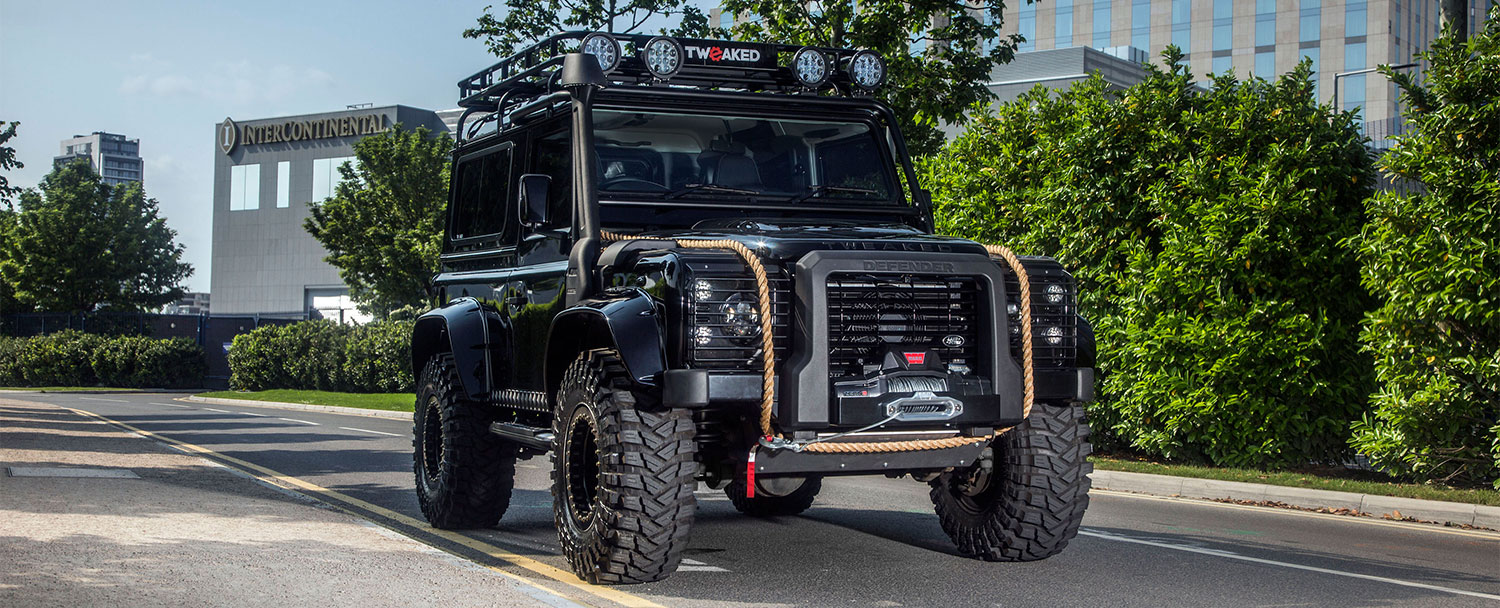 Land Rover Defender 90 110 130 Tweaked Spectre Edition