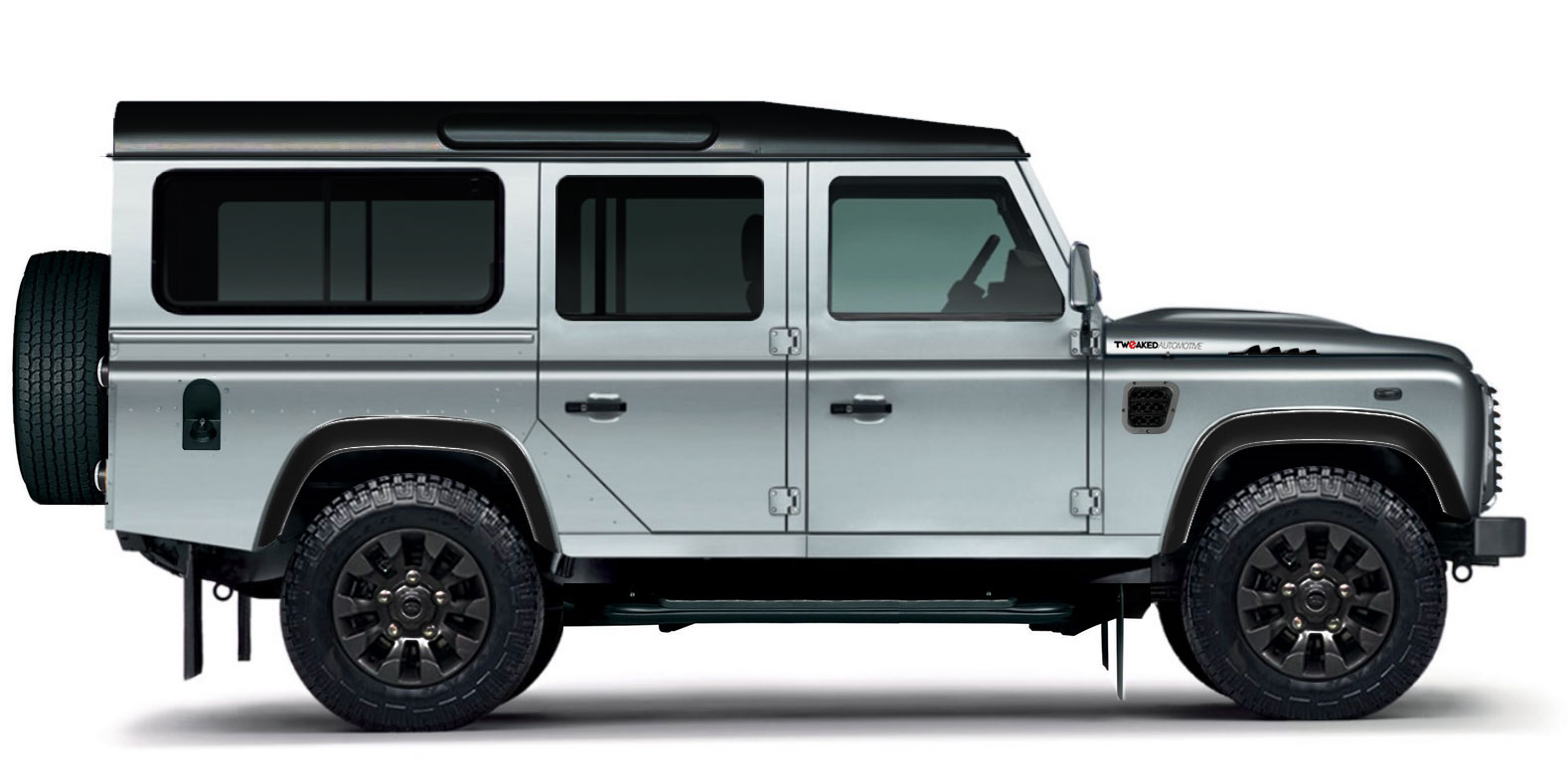 land rover defender 110 xs station wagon tweaked edition tweaked automotive. Black Bedroom Furniture Sets. Home Design Ideas