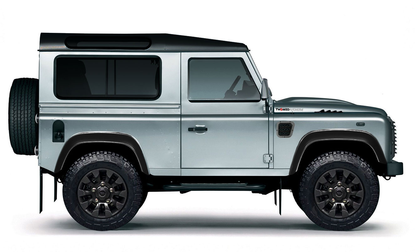 land rover defender 90 xs station wagon tweaked edition tweaked automotive. Black Bedroom Furniture Sets. Home Design Ideas