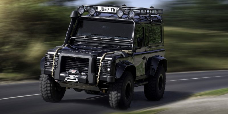Land Rover Defender Spectre Edition Tweaked Automotive